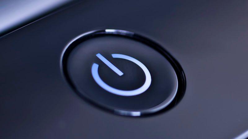 laptop power button