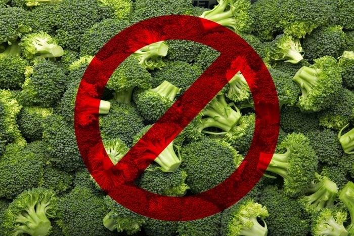 broccoli no travel foods