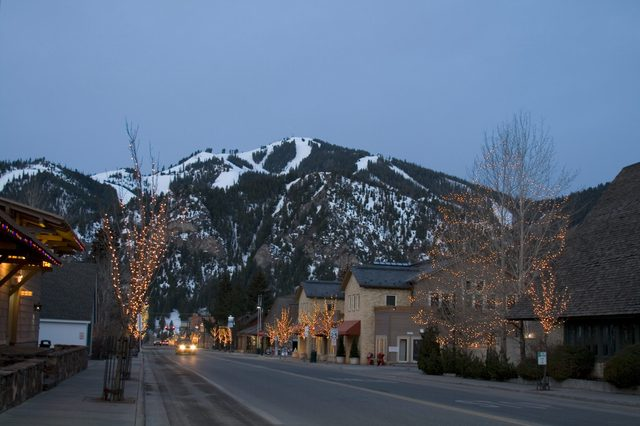 Ketchum Idaho most romantic towns
