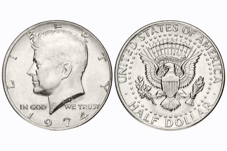 half dollar coin