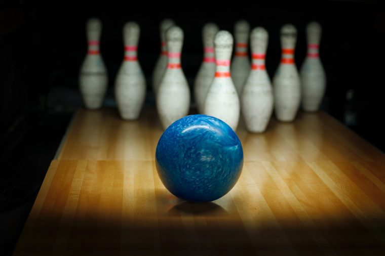 bowling ball TSA airport security