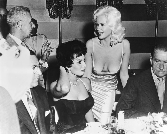Jayne Mansfield Sophia Loren