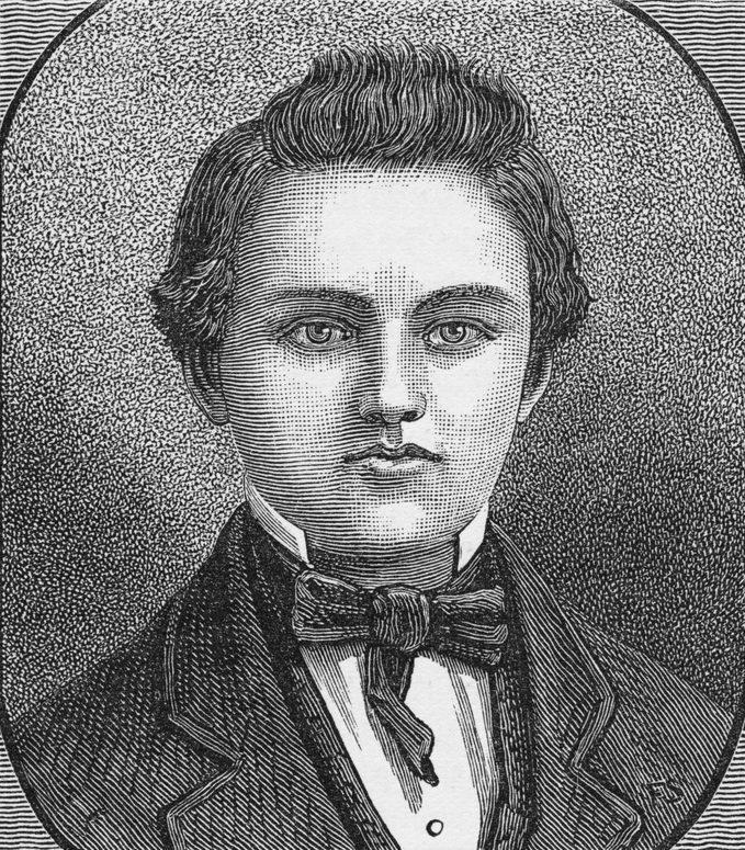 young James Abram Garfield