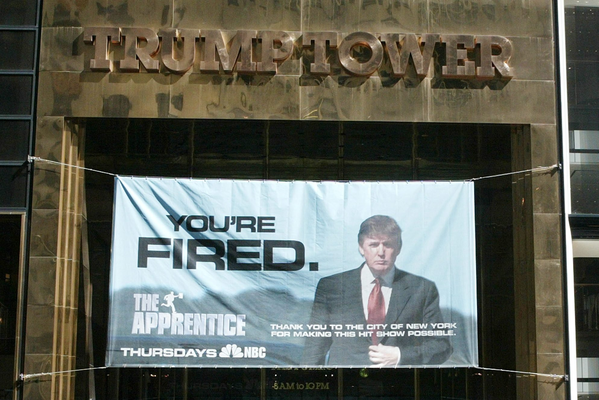 trump tower the apprentice