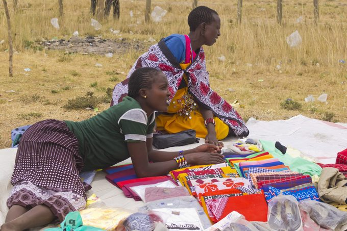 Kenya plastic bags waste