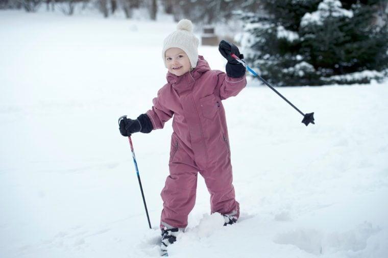 princess estelle of sweden snow