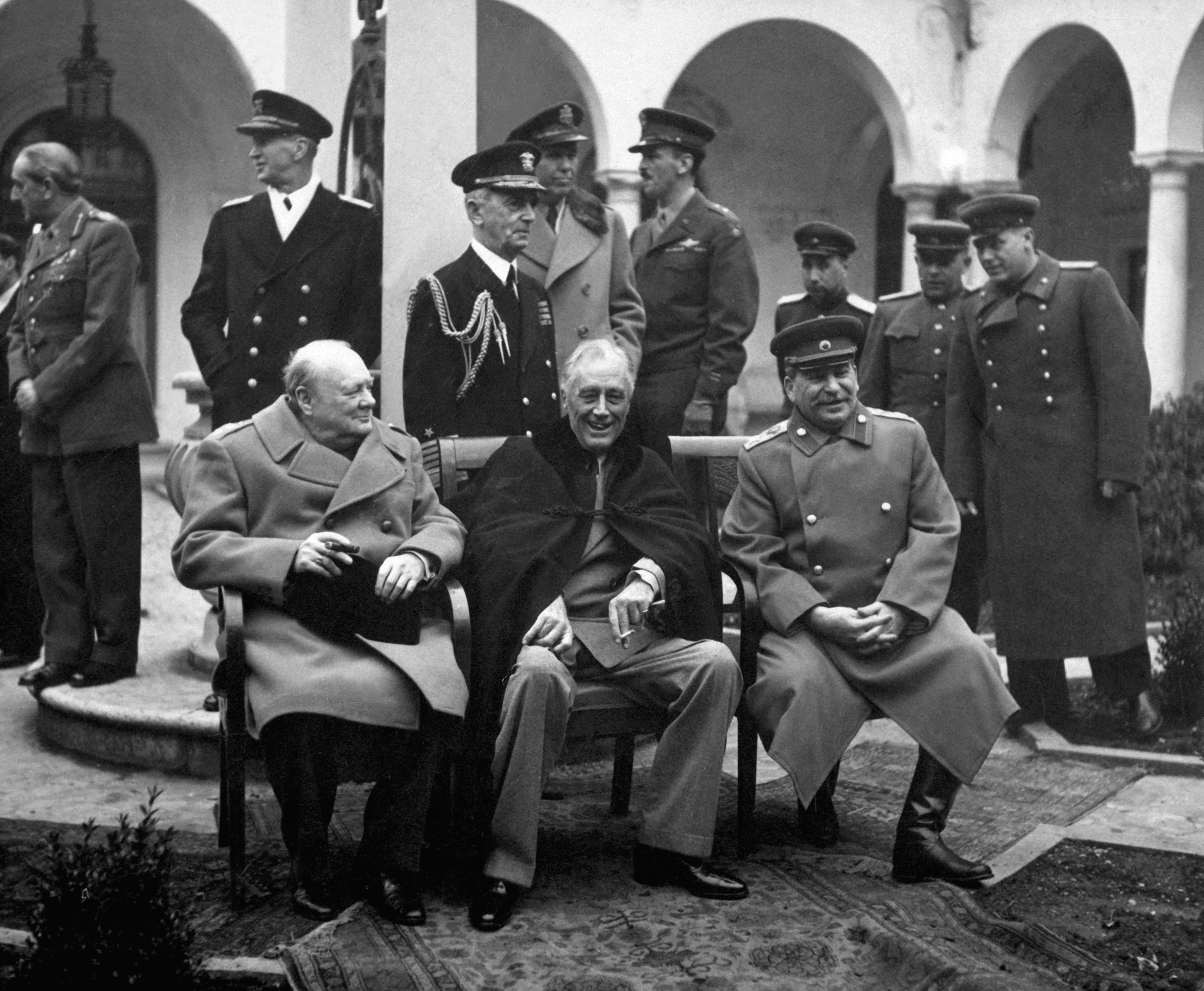 Conference of the Allied leaders