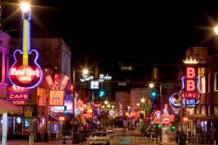 Memphis, Tennessee live music scene