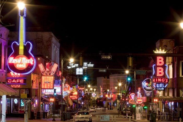 Memphis, Tennessee live music scene