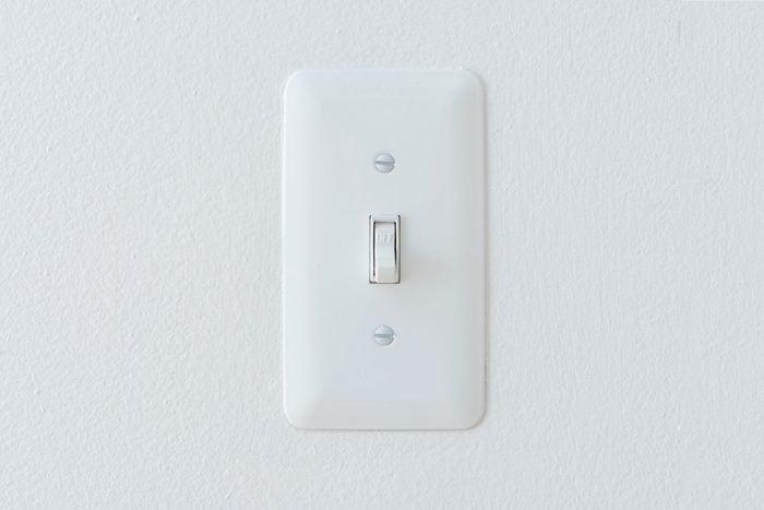 hotel light switch