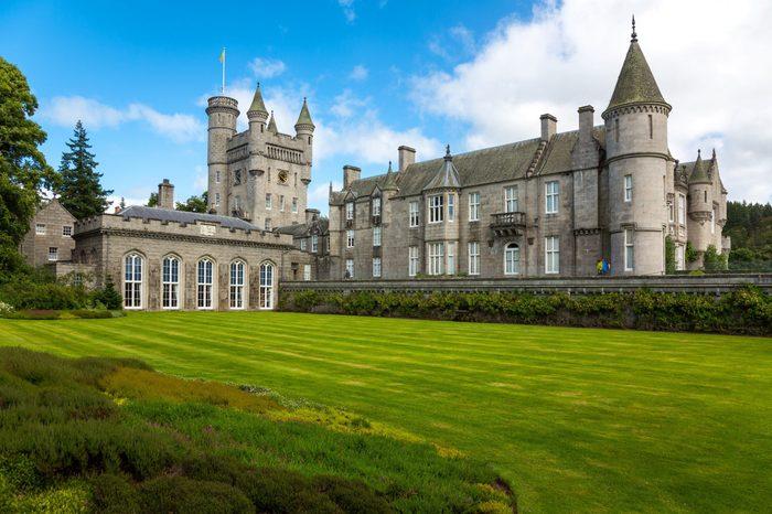 Balmoral Castle royal family
