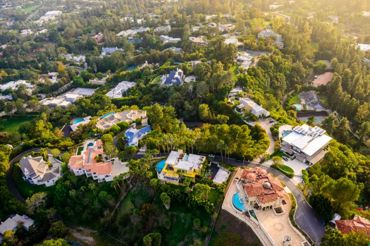 LA mansions million dollar homes