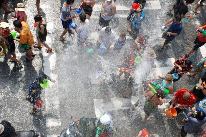 Songkran festival thailand sprng equinox