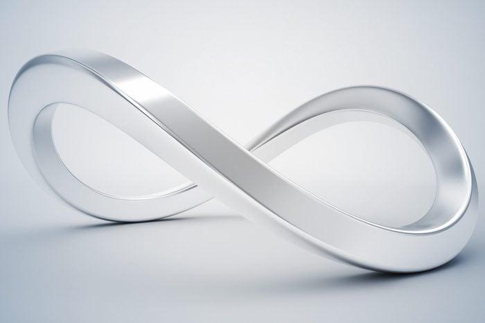 3d infinity symbol