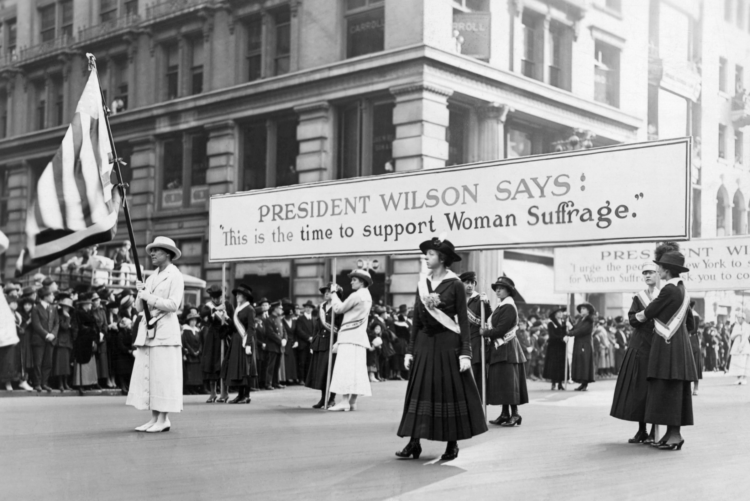 woodrow wilson human rights support