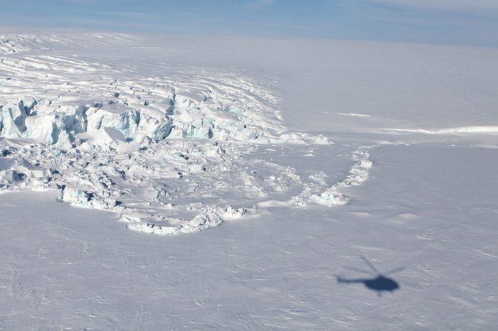 helicopter ride antarctica
