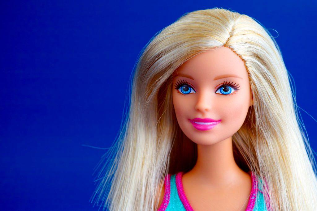 barbie doll portrait