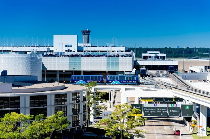 IAH bush intercontinental airport houston texas