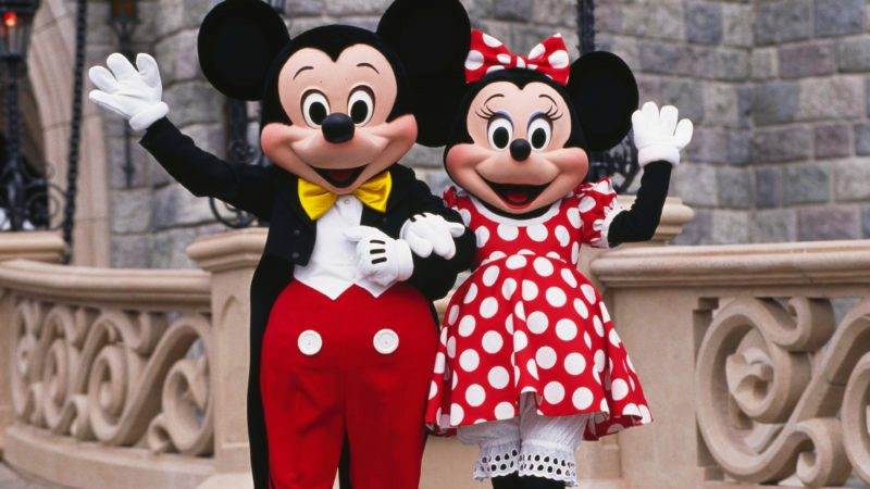 mickey and minnie mouse disney