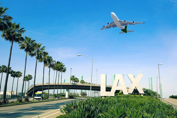 LAX airport layover