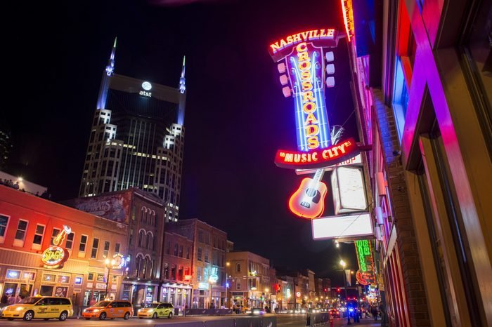 Nashville, United States live music city