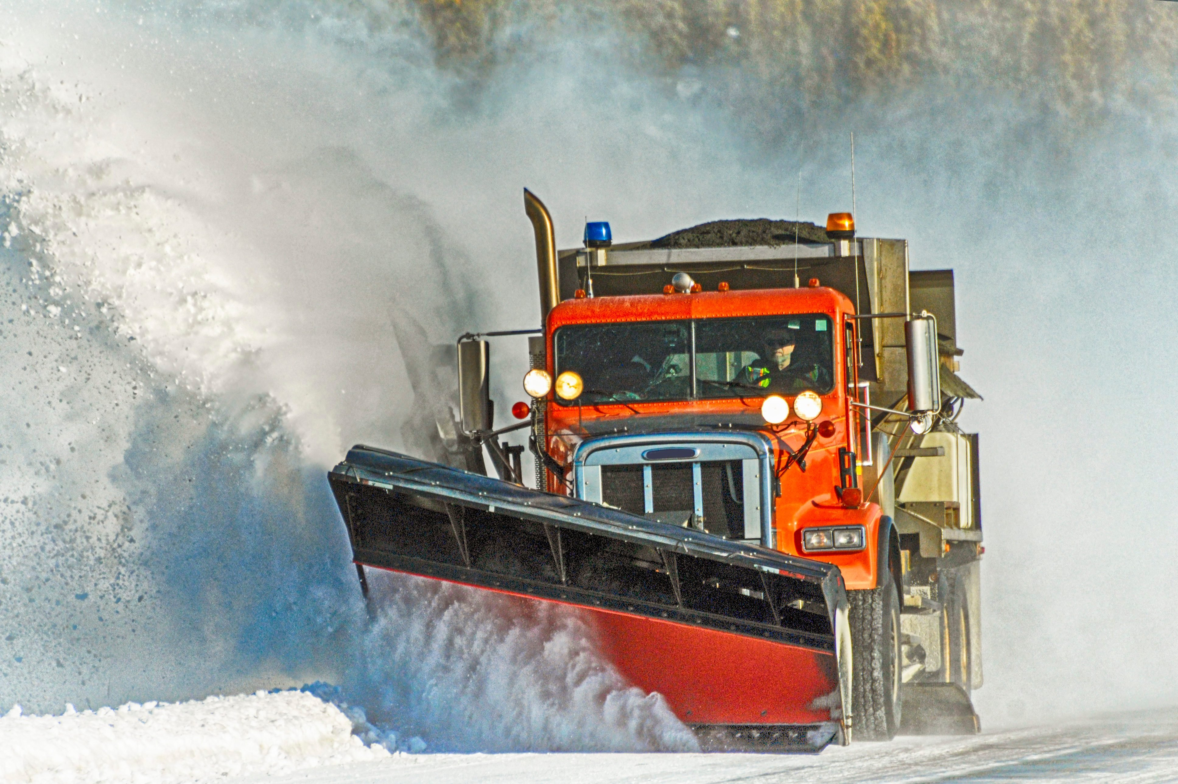 Here's Exactly What to Do When You Spot a Snow Plow on the Road