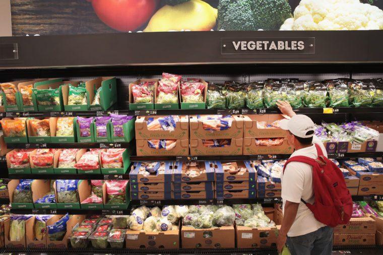 vegetables aldi
