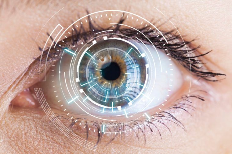 eye scanner technology facial recognition