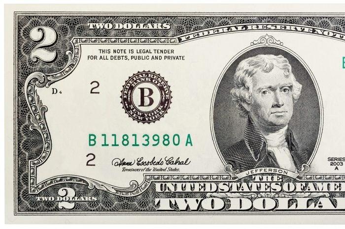 two dollar bill
