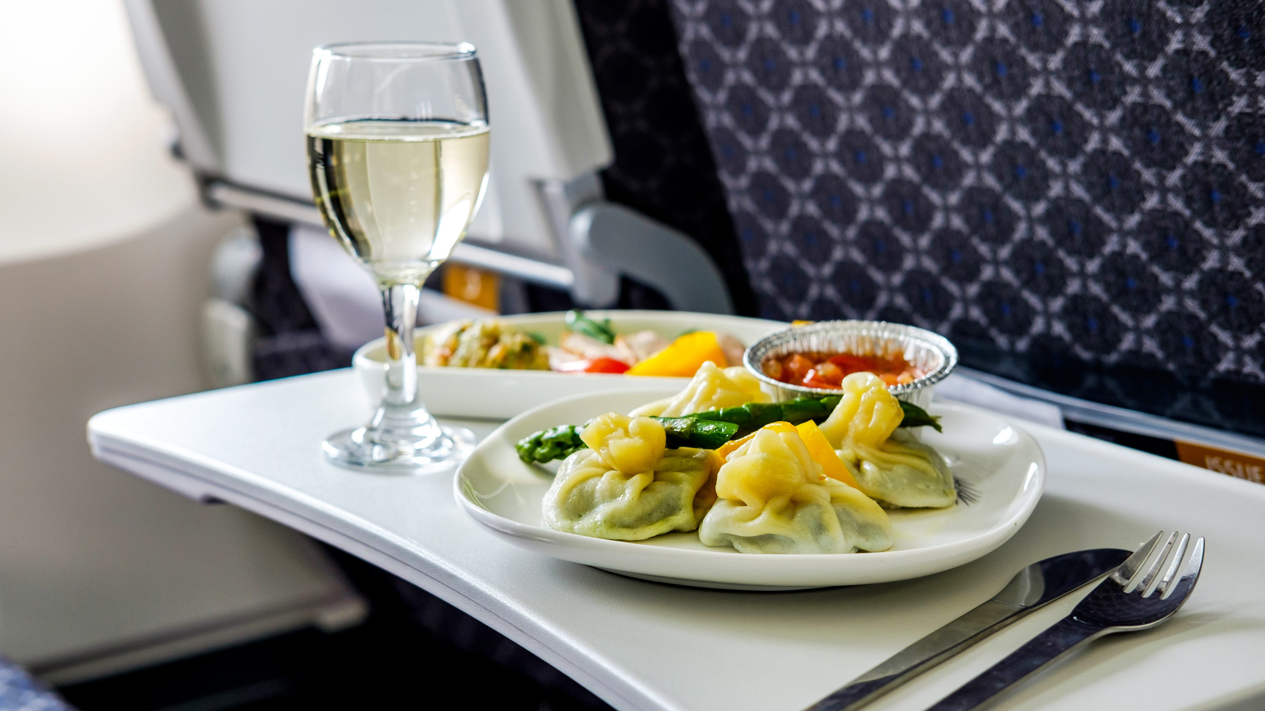 This Is What Happens to Uneaten Plane Food After Landing