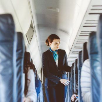 This Is What a Flight Attendant First Notices About You