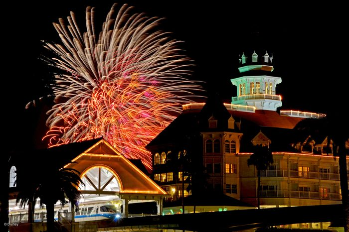 grand floridian Disney Hotels with the Best Views