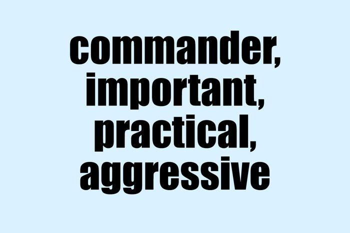 impact font commander important practical aggressive
