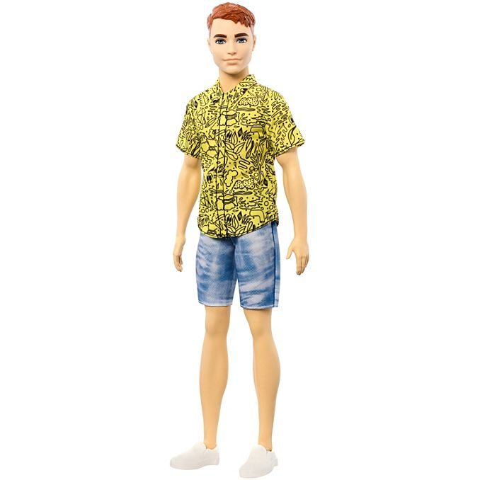 ken doll red hair ginger fashionista