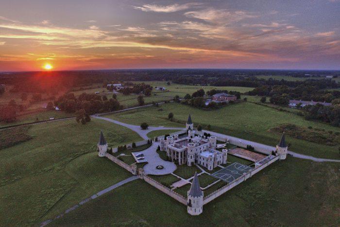 The Kentucky Castle hotel in Versailles