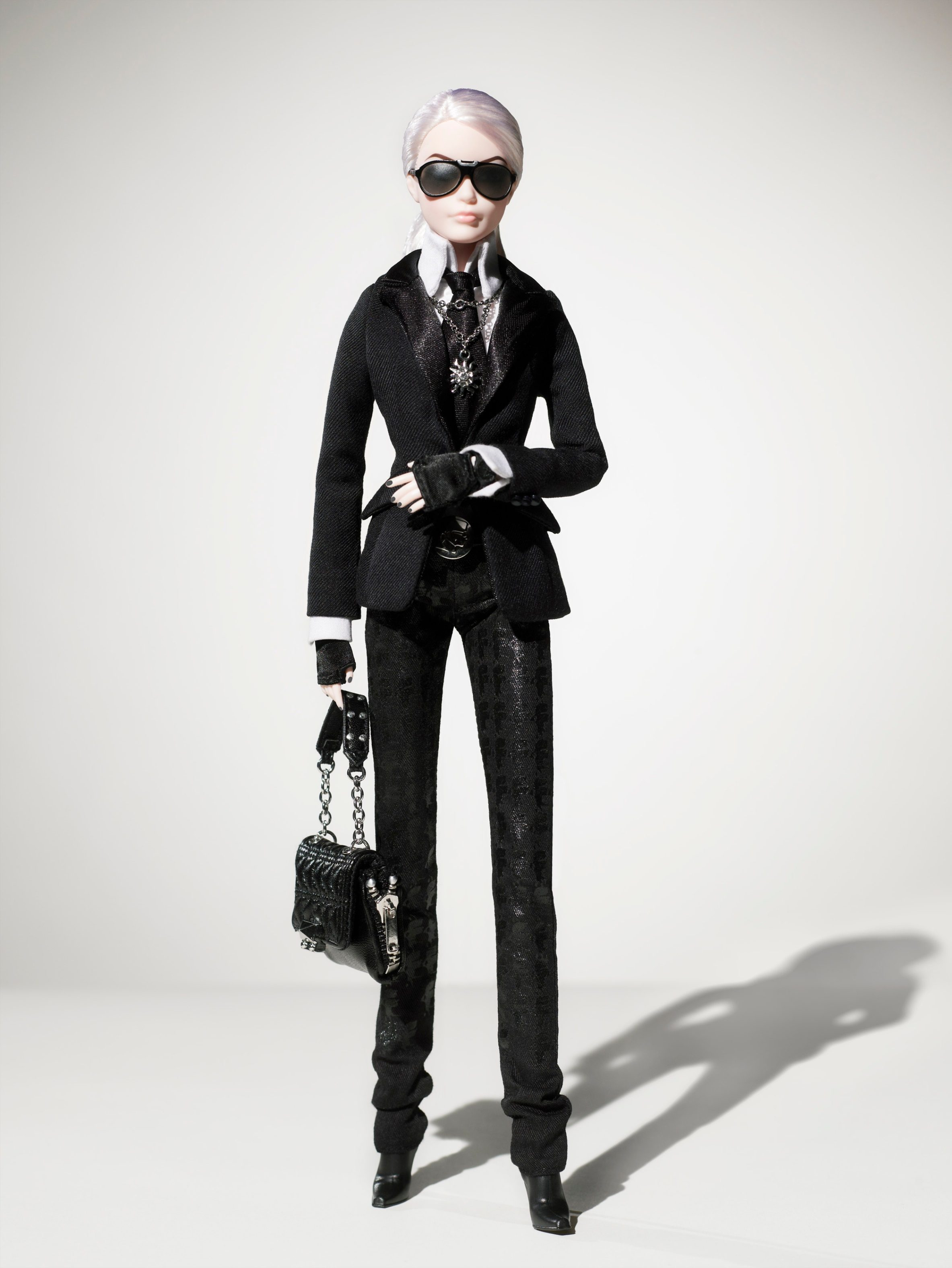 karl lagerfeld barbie doll