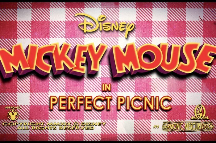 mickey mouse perfect picnic