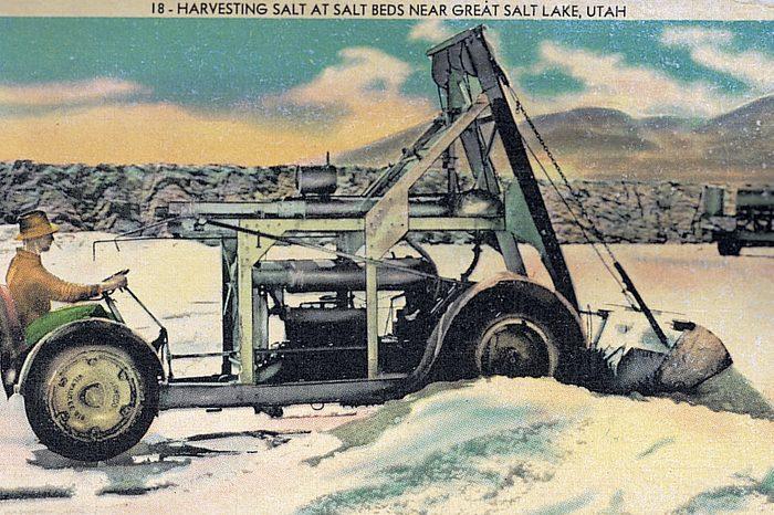 salt lake utah vintage post card