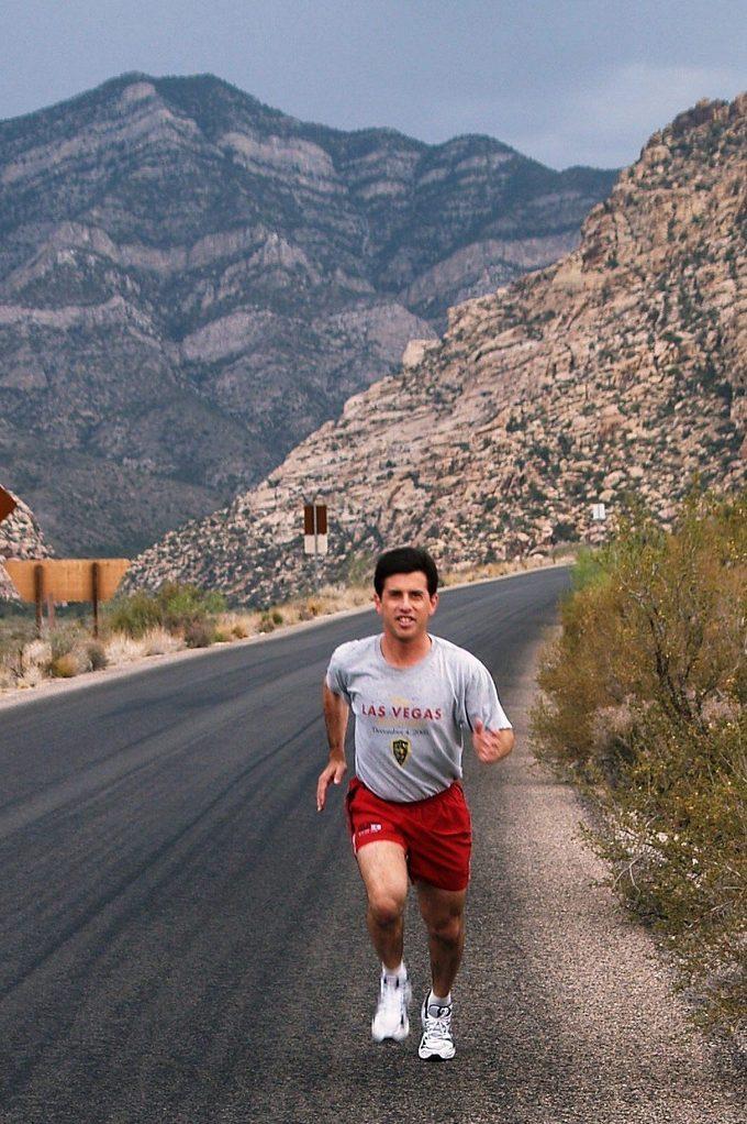 Randy Lazer marathoner