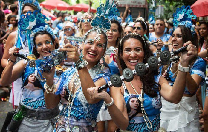 mardi gras in rio de janeiro brazil