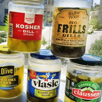 Out of 5 Brands of Dill Pickles, This Is the Best One