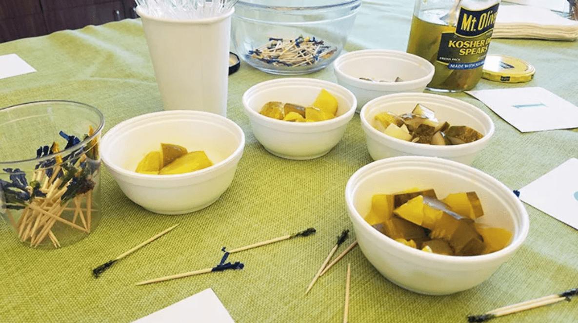 dill pickle taste test