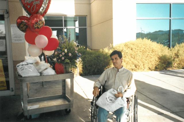 Randy Lazer hospital diagnosis heart disease