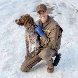 A UPS Driver Rescued a Dog from a Frozen Pond Without Hesitation