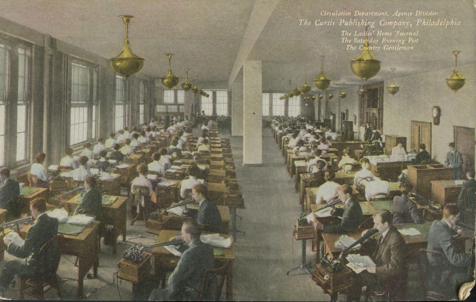 vintage post card pennsylvania