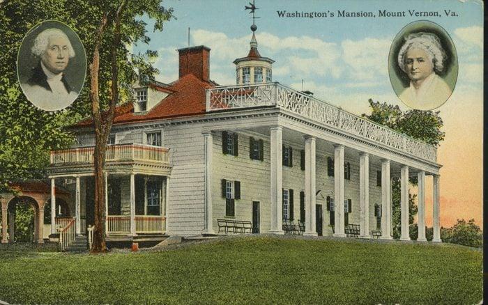 mount vernon virginia washington's mansion