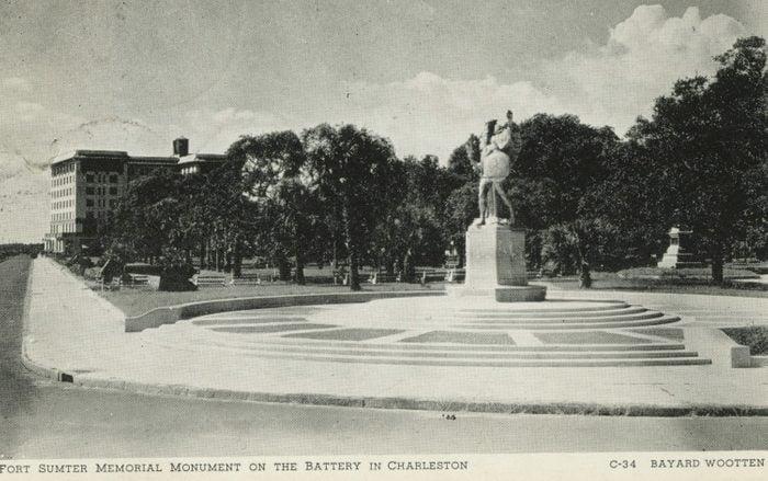 charleston south carolina vintage post card