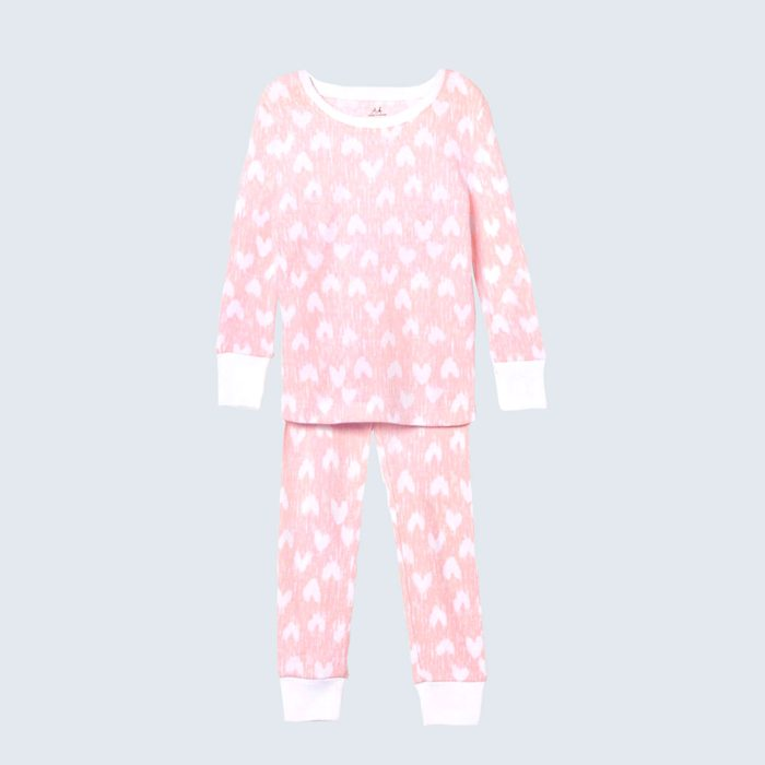 For the littlest lovebugs: aden + anais Cotton Hearts Pajamas