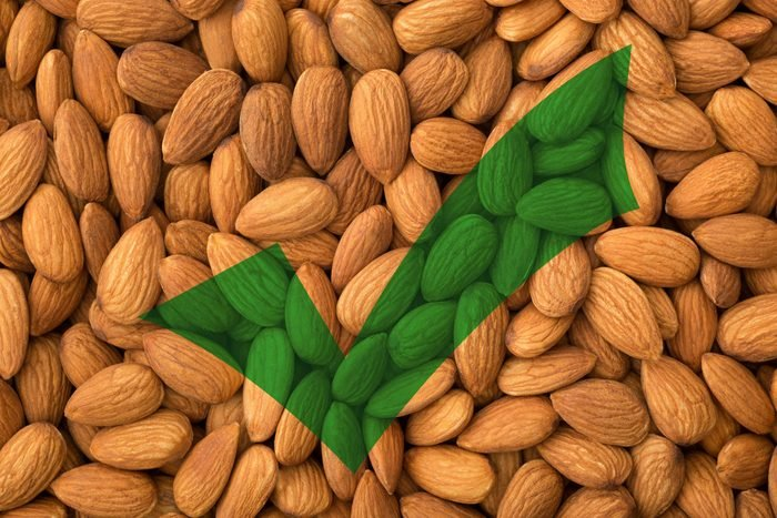 almonds protein snack