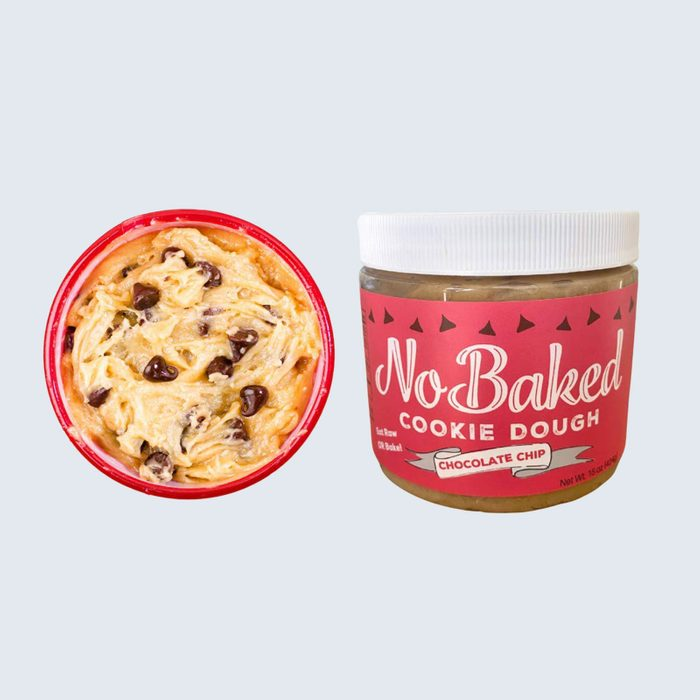 For the midnight muncher: NoBaked Edible Bakeable Cookie Dough